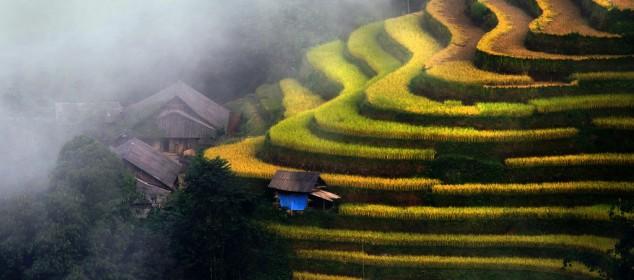 Ruong bac thang Ha Giang