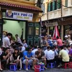 Hanoi bia hoi - cheap beer