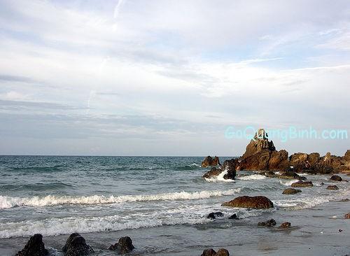 Da nhay beach Quang binh Viet nam