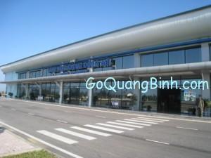 dong hoi airport quang binh vietnam